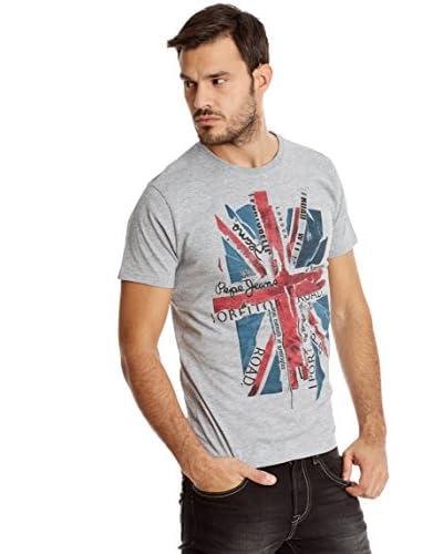 Pepe Jeans London T-Shirt Manica Corta Stuart Ip [Grigio]