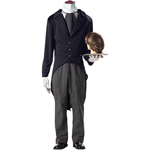 Adult's Headless Butler Costume (X-Large 44-46)