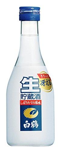 白鶴 上撰 ねじ栓 生貯蔵酒 300ml×12本