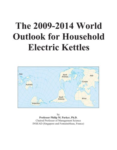 The 2009-2014 World Outlook For Household Electric Kettles front-354514