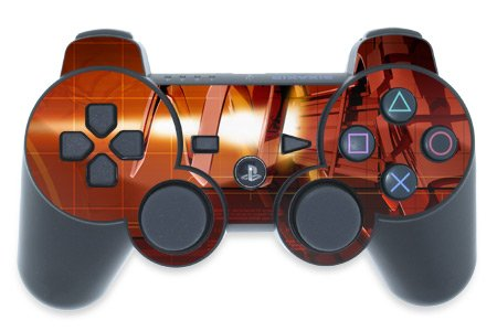 Mygift Ignition Design Ps3 Playstation 3 Controller Protector Skin Decal Sticker