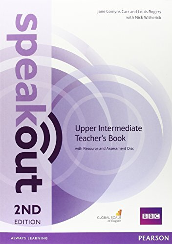 Speakout. Upper intermediate. Teacher's book. Con espansione online. Con CD. Per le Scuole superiori