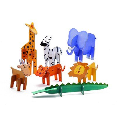 Cheap Djeco Animals 3-D Puzzle by Djeco (B000TQMSNC)