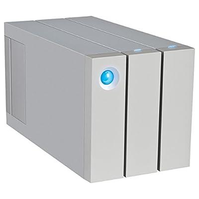LaCie 2big Dual Thunderbolt-2 USB 3.0 2-Bay RAID Hard Drive 6TB (9000437U)