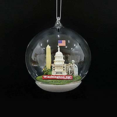 Kurt Adler Washington DC Landmarks Dome Ornament
