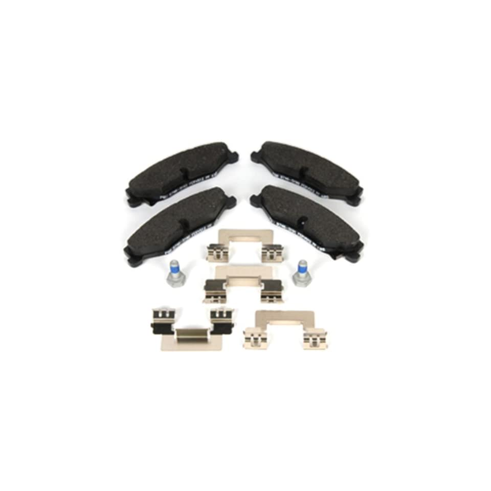 ACDelco 171 0898 GM Original Equipment Rear Disc Brake Pad Kit with Brake Pads, Clips, and Bolts