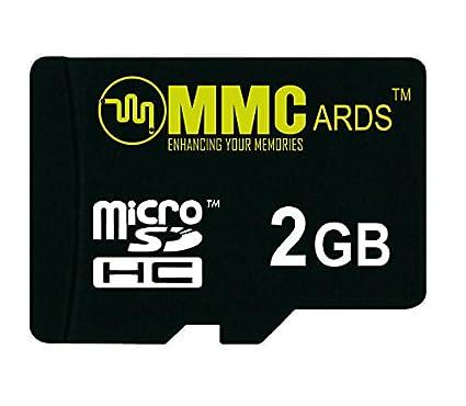MMCards 2GB MicroSDHC Memory Card
