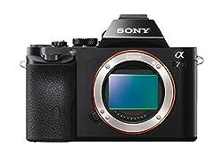 Sony Alpha A7R 36.4MP Digital SLR Camera (Black) Body Only (ILCE-7R)