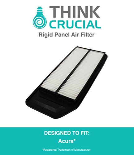 Rigid Panel Air Filter Fits Acura TSX & Honda Accord, Compare to Part # A25503 & CA9564, Designed & Engineered by Think Crucial