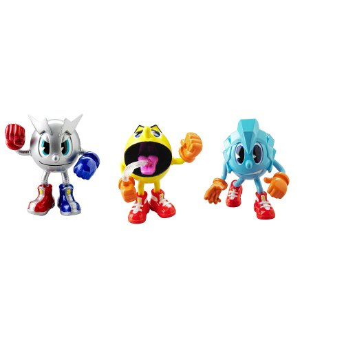 Pac-Man Pac and Friend Pacster Collection Action Figure - 1