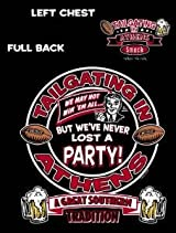 Tailgating in Athens, A Southern Tradition T-shirt
