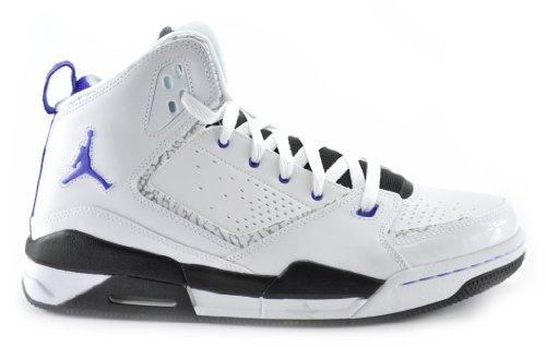 the latest ebf61 0b622 Jordan SC-2 Mens Basketball Shoes White Bright Concord Black 454050-108