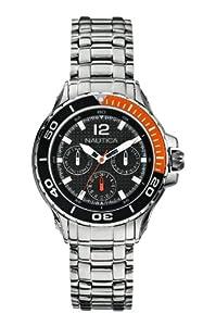 Nautica Women's Quartz Watch A21558M with Metal Strap