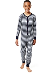 Cotton Rich Striped Onesie