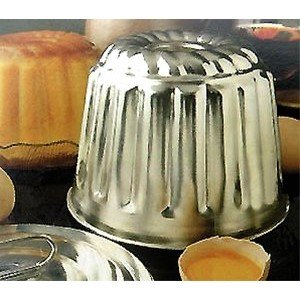 Steam Pudding/Cake Mold with Lid - 8 Cup Capacity