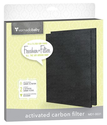 Vornado Air MD1-0031 Purio Replacement Carbon Filter, 2-Pk.