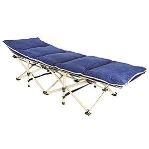 Kingstar 折りたたみベッド コンパクト 軽量 シングル 組立不要 マットレス・収納袋付き 耐荷重200kg