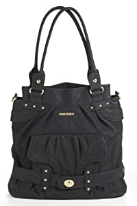 timi & leslie Louise Diaper Bag, Velvet Black (Discontinued by Manufacturer)