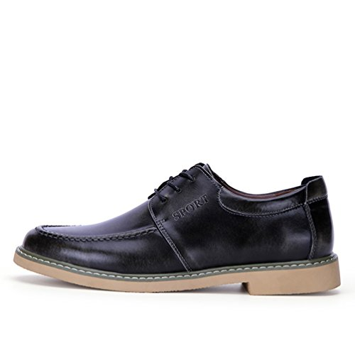 Passionow-Mens-Comfortable-Lace-up-Sewing-Leather-Oxfords