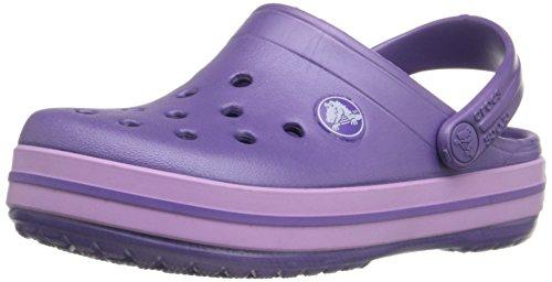Crocs Kids' Crocband Clog (Toddler/Little Kid/Big Kid), Blue Violet/Iris, 4 - 5 M US Toddler