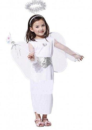 子供用 クリスマス コスプレ 衣装 かわいい 天使 仮装 angle エンジェル コスチューム パーティ衣装 天使 (天使)