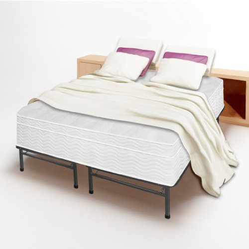 13 euro box top spring mattress and bed frame set king no box spring need best reviews. Black Bedroom Furniture Sets. Home Design Ideas