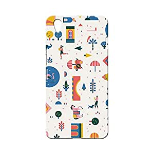 BLUEDIO Designer Printed Back case cover for Oneplus X / 1+X - G0667