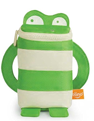 P'kolino Mess Eaters Travel Pal - Green Frog - 1