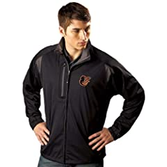 Baltimore Orioles Highland Water Resistant Jacket by Antigua