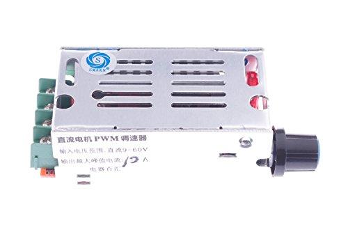 Smakn® Dc 9V-60V 10A Pulse Width Modulator Pwm Electric Motor Speed Controller Max 600W