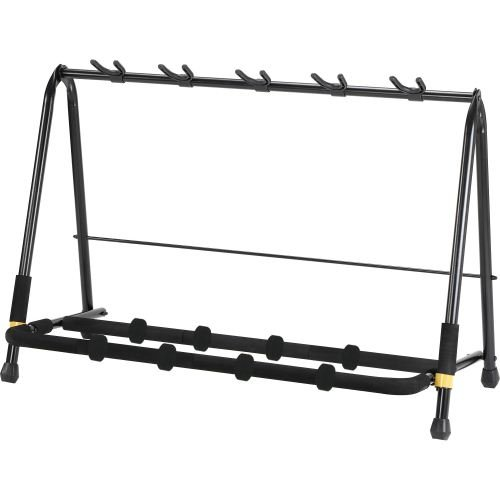 HERCULES STANDS GUITAR RACK - HOLDS 5 GUITARS GS525B