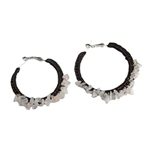 Rosequiose Hoop Earrings.