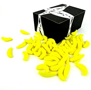 Vidal Sugared Gummi Bananas, 12 oz Bag in a Gift Box
