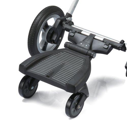 guzzie+Guss G+G 002 Universal Axle Stroller Hitch, Black