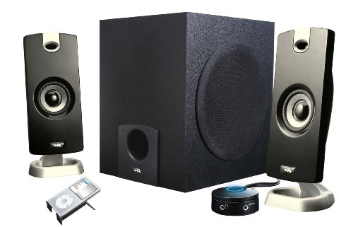 Best Price Cyber Acoustics 2 1 Computer Speakers CA-3090B00006B9W2