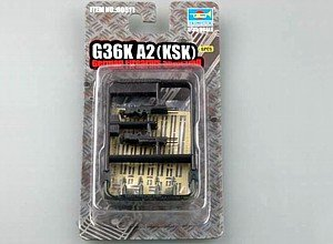 Trumpeter G36K A2 German Assault Rifles, Scale 1/35, 4-Pack - 1