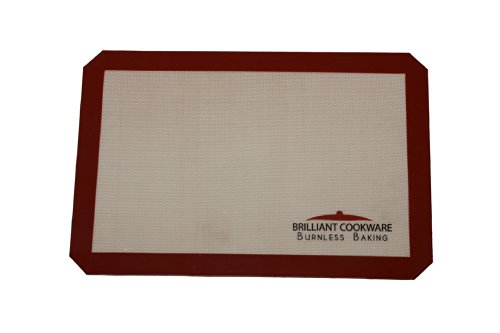 Brilliant Cookware - A Baking Mat Like No Other!!!!! Do you love to bake but your baking mat always gives you trouble and you just end up disappointed with your baked goodies? Then, there is no longer a need for you to worry! Say goodbye to using parchment paper and those unhealthy and unsafe baking tools because now, a burnfree silicon baking mat, Brilliant Bakeware, is here to serve as the only healthy solution for all baking needs of baking enthusiasts all over the world!!!!