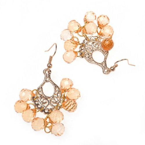 BestDealUSA Pearl Dangle Earring 925silver