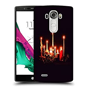 Snoogg Lighting Candles Designer Protective Back Case Cover For LG G4 STYLUS