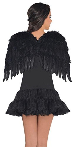 Amscan Black Feather Wings (Ages 14+)