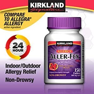 Kirkland Signature Aller-Fex , 180 mg 150 Tablets