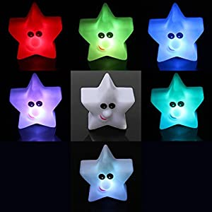 Shine Star 8 Color Change Changing LED Lamp Night Light Wedding Ball Party Decor from Nollmit Co,LTD