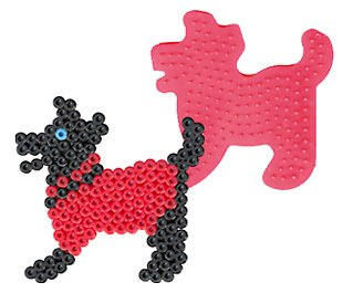 Dog Pegboard for Perler Fuse Beads