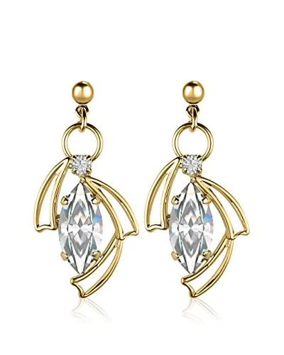 Swarovski Elements by Philippa Gold Orecchini Navette Earrings Metallo Dorato