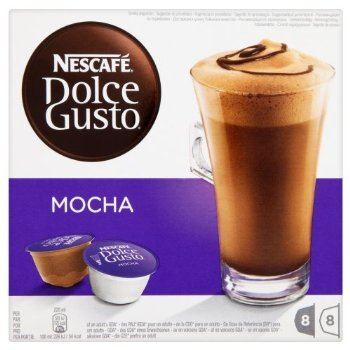 Purchase 2 XNescafé Dolce Gusto Mocha 16 Capsules (Pack of 3, Total 48 Capsules/coffee pods, 24 Servings) by Nescafe