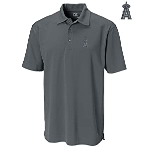 Los Angeles Angels of Anaheim DryTec Genre Polo by Cutter & Buck by Cutter & Buck