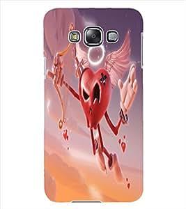 ColourCraft Love Heart Design Back Case Cover for SAMSUNG GALAXY GRAND 3