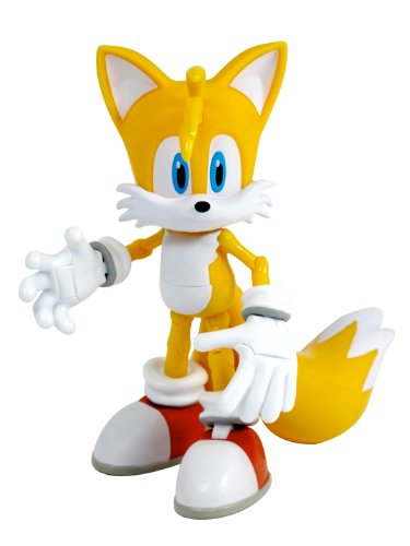 Baby And Child Toys Cheap Sonic The Hedgehog 5 Inch Super Posers Action Figure Tails Over 25 Points Of Articulation