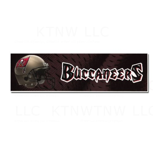 Officially Licensed NFL Helmet Bumper Sticker - Tampa Bay Buccaneers at Amazon.com