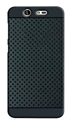 Reliance Jio Lyf Earth 2 Soft Dotted Rubberised Back Case Cover with Premium Quality(For Reliance Jio Lyf Earth 2)